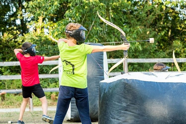 archery tag hunger game evjf activité labougeotte mayenne laval