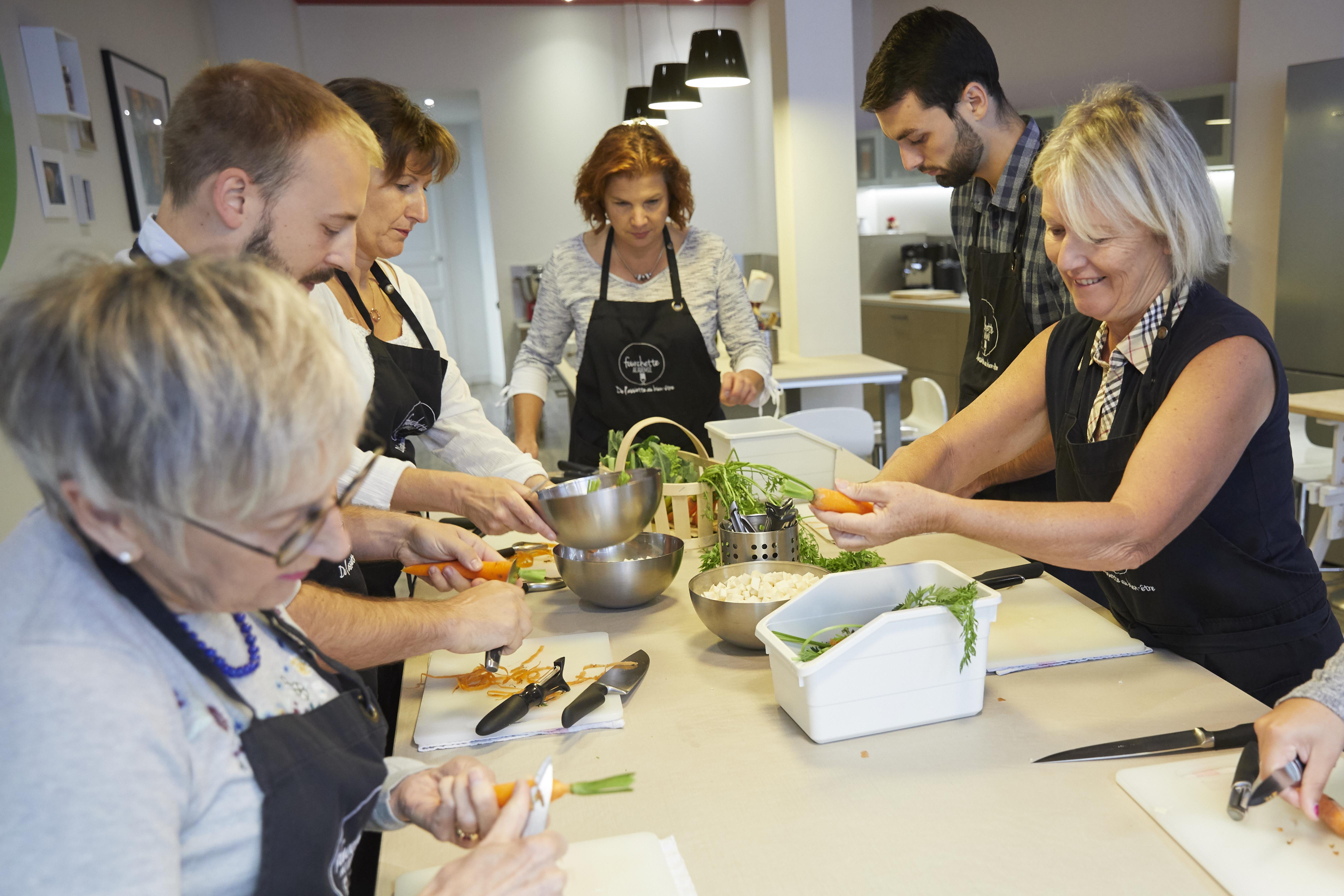 daurade fourchette academie atelier cuisine evjf laval labougeotte blog