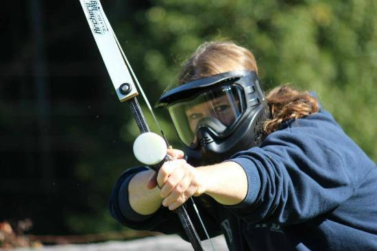 Activités evjf archery tag hunger game mayenne laval labougeotte lebois
